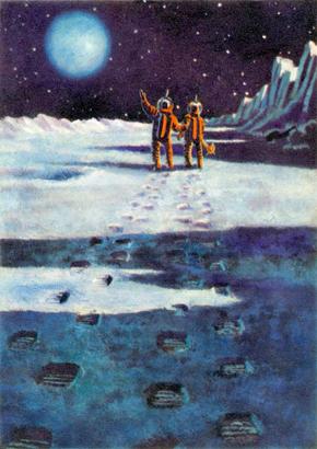 Андрей СОКОЛОВ - Космическая фантазия (1963)